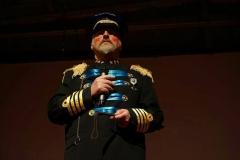 Anthony Lewis as General Genghis Khan Schmitz