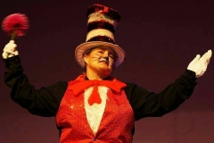 Jane Van Dorp as The Cat in the Hat